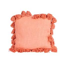 PUNCH Coussin rose Larg. 45 x Long. 45 cm