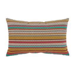 NOMADIC Coussin multicolore Larg. 30 x Long. 50 cm