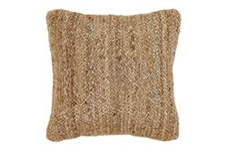 BRAID Coussin naturel Larg. 45 x Long. 45 cm