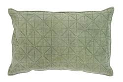 CARRIE Coussin menthe Larg. 40 x Long. 60 cm