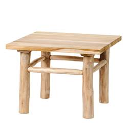 PANTAI Table lounge naturel H 37 x Larg. 50 x P 50 cm