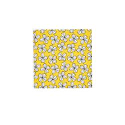 LIV YELLOW Set de 20 serviettes jaune Larg. 33 x Long. 33 cm