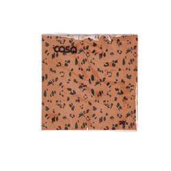 CAMOUFLAGE Set de 20 serviettes orange Larg. 25 x Long. 25 cm